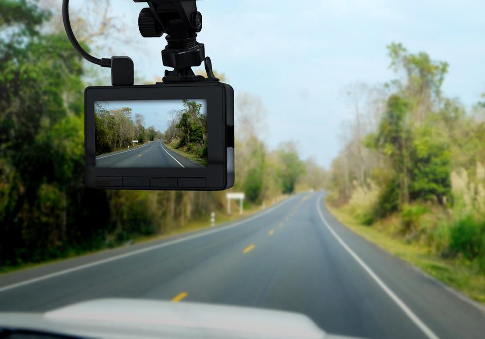 DashCam Tracking a Road