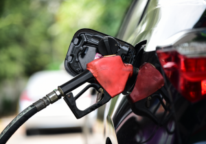 Filling up car with fuel