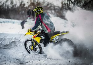 Motorbike Assets in Snow