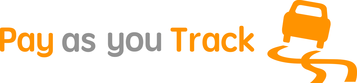 Pay as you Track logo